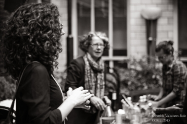 Julia Camp and Dr. Anne-Marie Jézéquel (Closing ceremony).