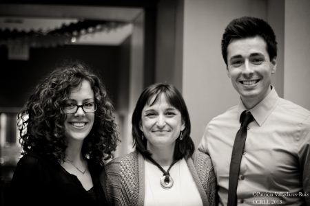 Julia Camp, María Paz Moreno, and David Gómez-Cambronero.