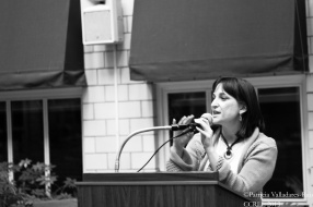 Dr. María Paz Moreno (Closing ceremony).