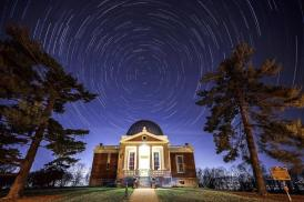COC with star trails by Keith Allen_Keith Allen